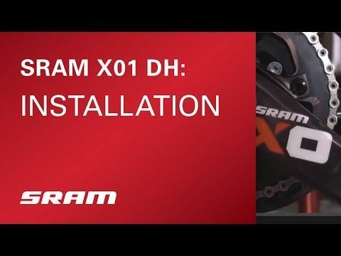 SRAM X01 DH Installation