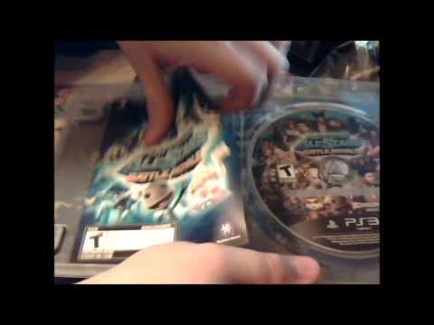 PlayStation All-Stars Battle Royale Unboxing - PS3 Version