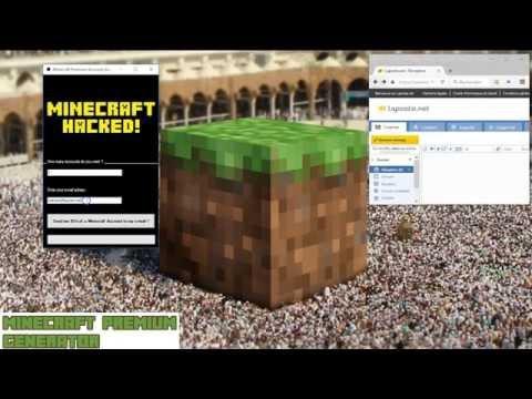 Minecraft premium account [free] ! 2015