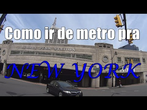 Como ir de metro de  Newark, New Jersey até New York