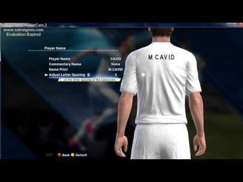 PES 2013   create player- M.Cavid