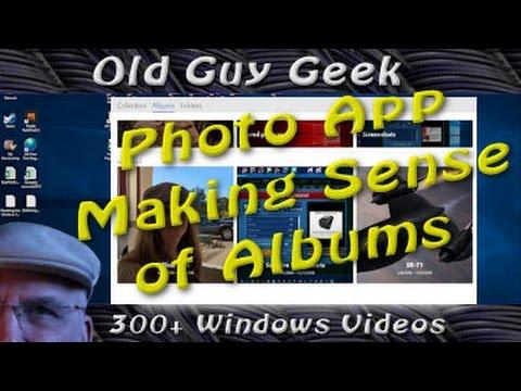 Windows 10 Photo App - Organize Your Photos into Albums