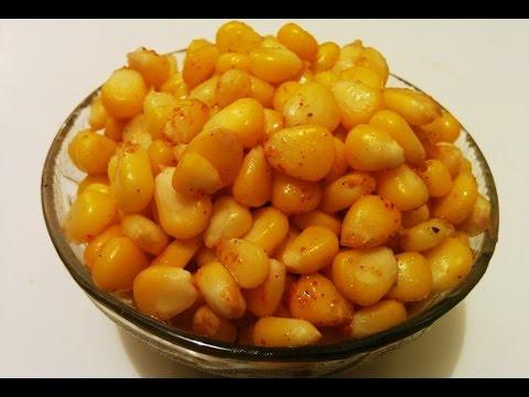 Masala corn recipe/Sweet corn masala by Savita Benur