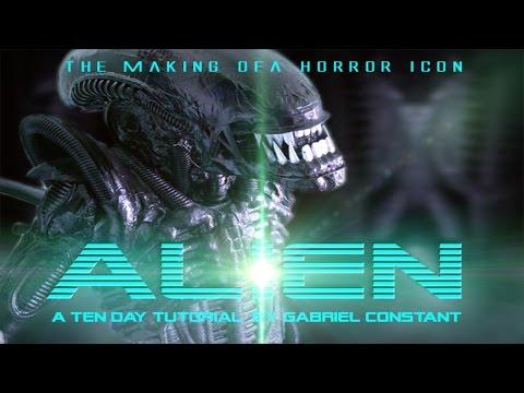 Alien xenomorph Full Costume tutorial with animatronics