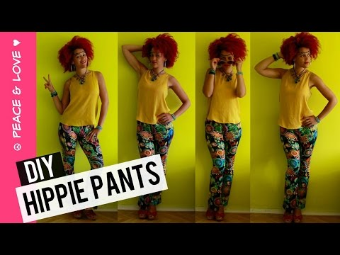 DIY Flared Pants in 30 min   Coachella Outfit Ideas