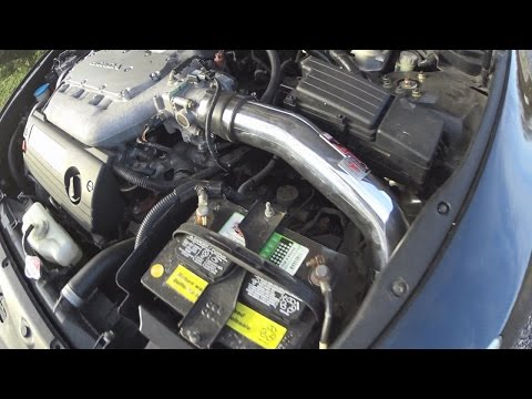 How to Install an Injen Cold Air Intake on a 2004 Honda Accord Coupe V6