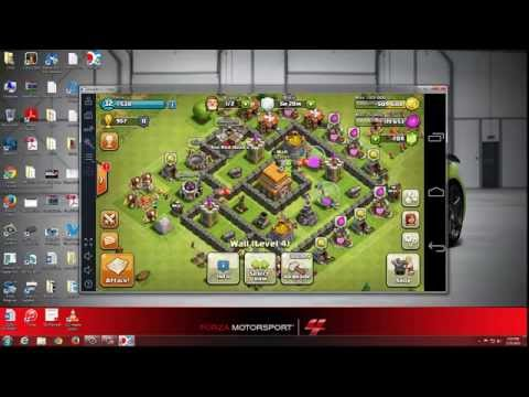 Play Clash Of Clans (COC) On PC With Droid4X 0.7.3 Beta- New Android Emulator