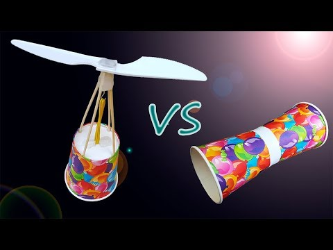 DIY Flying cup