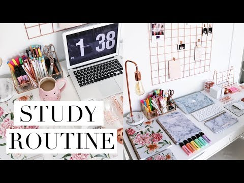 My Study Routine For Law School/University Exams (US Edition)