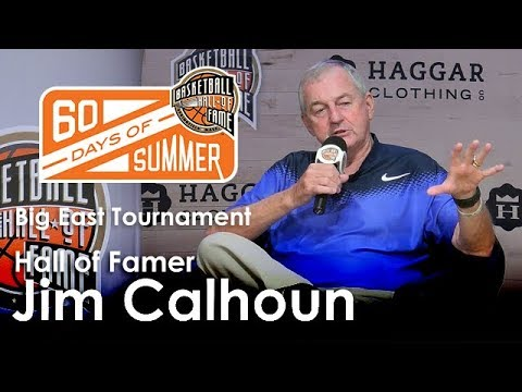 Jim Calhoun - What was it like to coach a team in the Big East Tournament?