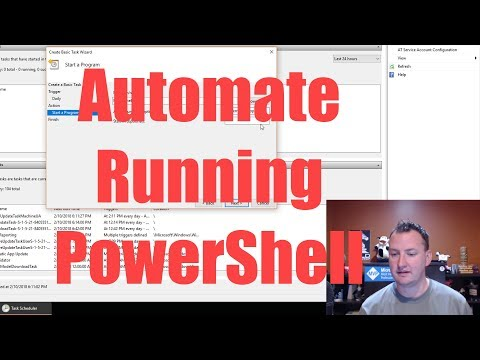 Automate your PowerShell scripts with Windows Task Scheduler