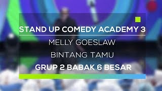 Stand Up Comedy Academy 3 : Melly Goeslaw