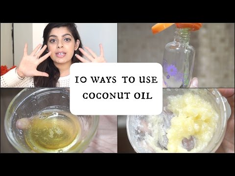 10 Ways to Use Coconut Oil for Skin, Hair & Body   Natural Remedies   DIY