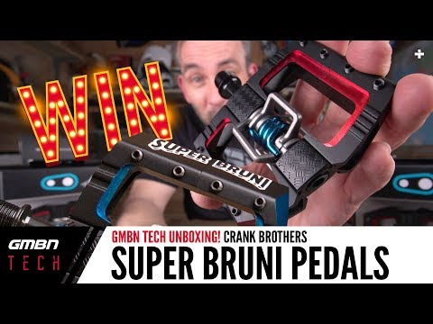 crankbrothers Super Bruni Mallet DH Pedal | GMBN Unboxing