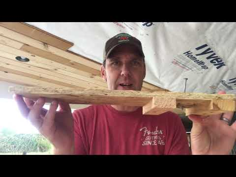 How to Hang Tongue & Groove Ceiling by Myself