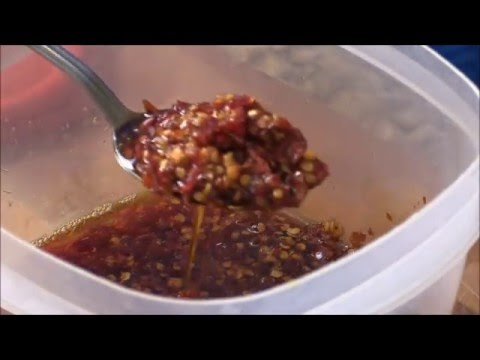 How To Made Szechuan Hot Chili Sauce and Chili Oil