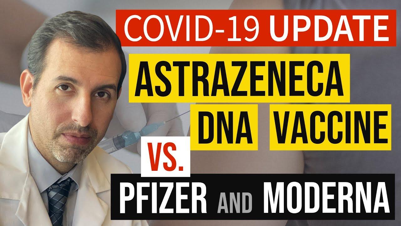 Coronavirus Update 118: AstraZeneca DNA COVID 19 Vaccine Explained (vs. Pfizer / BioNTech, Moderna)