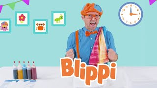 Arts And Crafts With Blippi | Art Videos For Kids | Blippi Videos