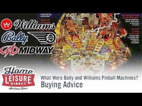 What are Bally Williams Pinball Machines?