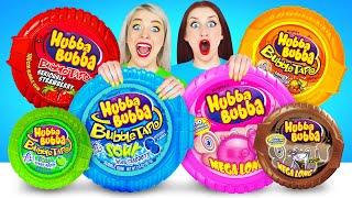 Bubble Gum Blowing Battle Challenge #2