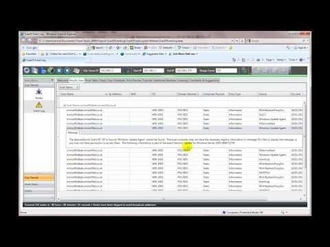 Centralise Event Log Management