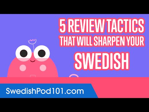 5 Review Tactics That Will Sharpen Your Swedish