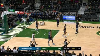 3rd Quarter, One Box Video: Milwaukee Bucks vs. Minnesota Timberwolves