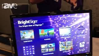 E4 AV Tour: BrightSign Demos HO523 Digital Signage Media Player