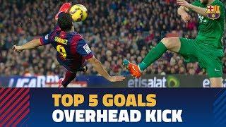 TOP GOALS   Five great Barça overhead kicks