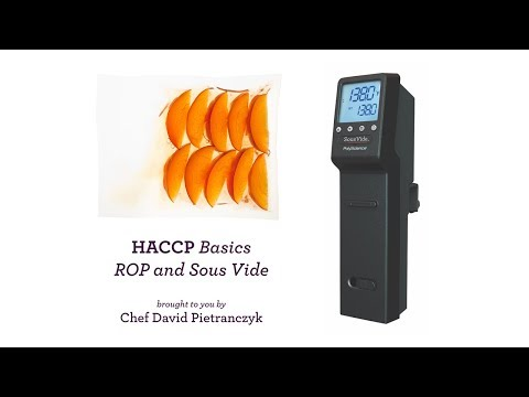 HACCP Basics of ROP and Sous Vide
