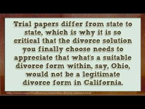 How to Get a Cheap Divorce in Alabama