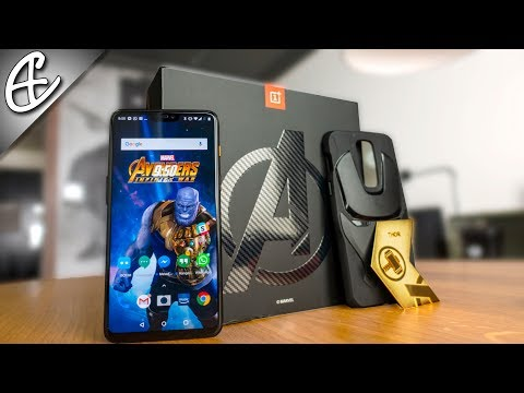 Super Special OnePlus 6 Unboxing - The Marvel Avengers Limited Edition!
