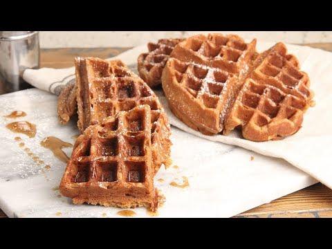Gingerbread Waffles   Episode 1214