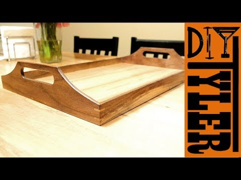 Wooden Serving Tray for Outdoor Grilling | Carolina Giveaway!