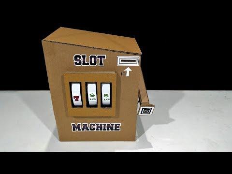 DIY! Slot machine How to make a Casino Slot machine from cardboard