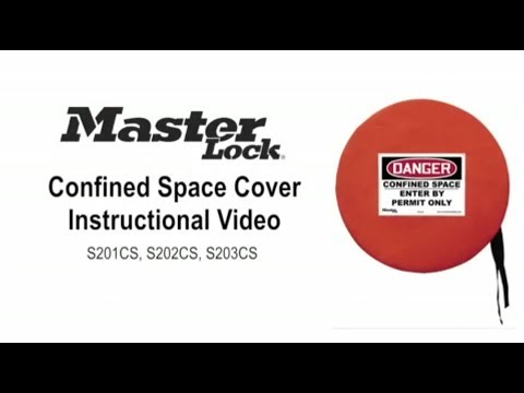 Master Lock Confined Space Covers Instructional Video