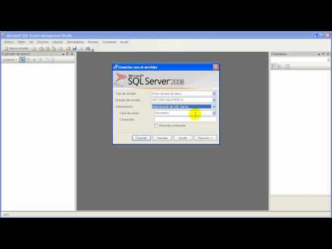 Crear usuario SQL Server 2008