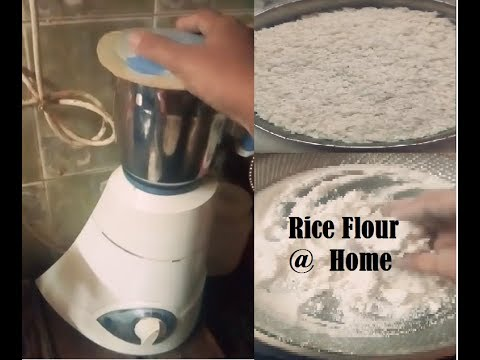 Homemade Rice Flour/Arisi Maavu/ Ari podi/ Tamil/ V24