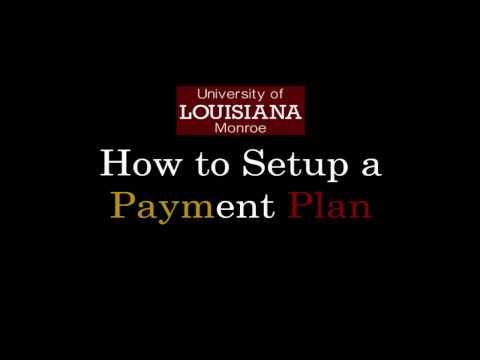 How to Setup a Payment Plan