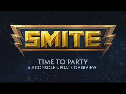 SMITE - 5.5 Console Update Overview - Time to Party