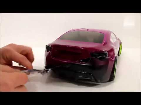 eac RC Body Build -- Toyota86 with Rocket Bunny Ver.2 Kit