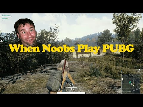 NOOB PLAYS BATTLEGROUNDS | Player Unknown Battlegrounds Fails Funny Moments