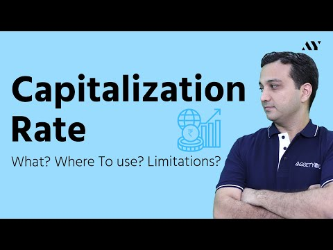 Cap Rate or Capitalization Rate - Explained with Exact Calculation & Formula