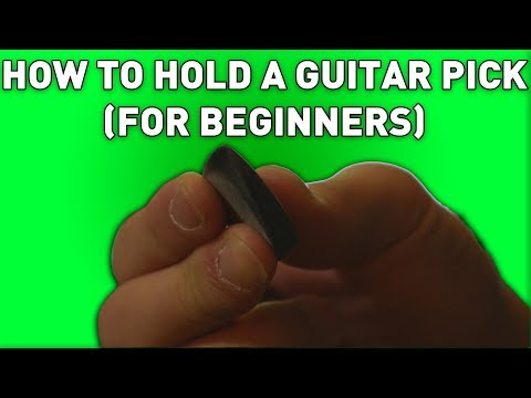 How To Hold A Guitar Pick (For Beginners) | Andrew Baena