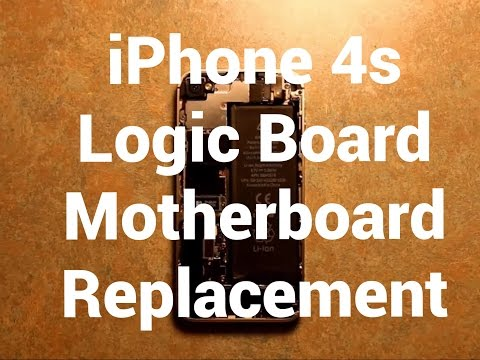IPhone 4s logic Board Motherboard Replacement How To Change