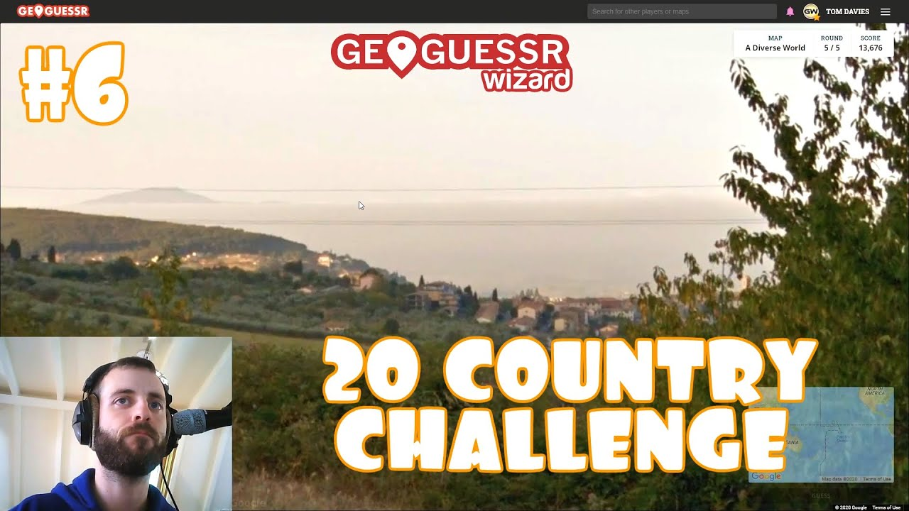 Geoguessr - 20 Country Challenge - Attempt #6