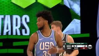 3rd Quarter, One Box Video: Team USA vs. Team World