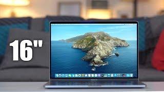 J'ai reçu le MacBook Pro 16 pouces (fin 2019)