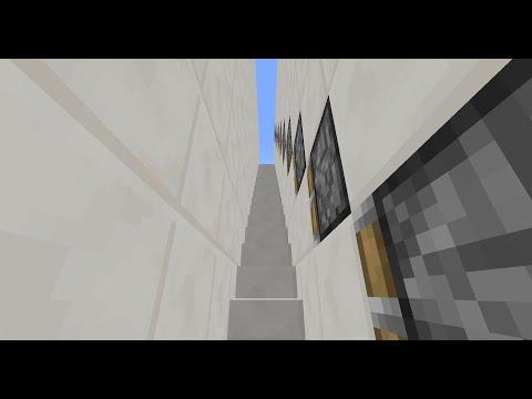 How to make a redstone escalator! NO MODS!
