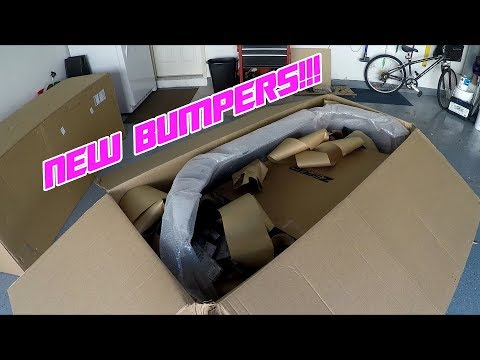 370Z Nismo Bumper Unbox | New Bumpers from Z1
